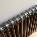 Black radiator, Simon Kelman Plumbing and Heating Ltd, Inverness, North Scotland